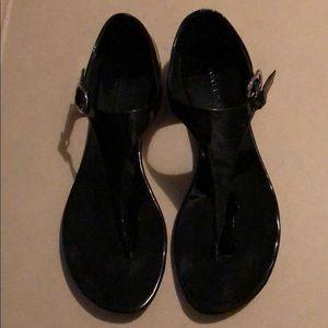 Banana Republic sandals black size 7